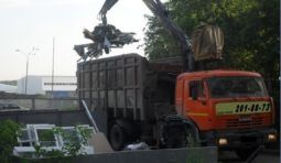 Аренда мусоровоз КАМАЗ