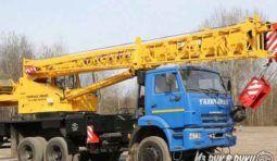 Автокран 25 тонн Вездеход
