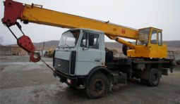 Автокраны с грузоподъемностью 14-250 т.