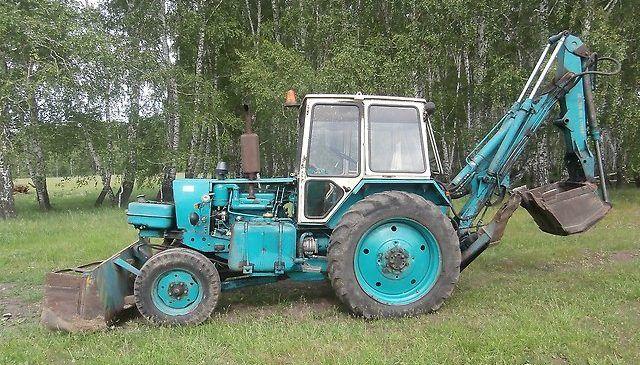 Экскаватор ЮМЗ-6КЛ