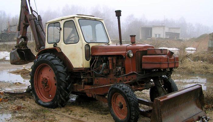 Экскаватор ЮМЗ-6Л