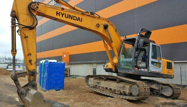 Экскаваторы Hyundai гусеничные