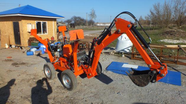 Модели экскаватора Mini Digger-2500