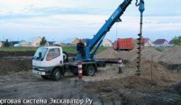 АРЕНДА БУРИЛЬНО-КРАНОВОЙ МАШИНЫ (ЯМОБУРА) ELEPHANT DG 450 РОСТОВ-НА-ДОНУ