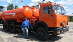 Аренда ассенизатора КамАЗ 12 м.куб.