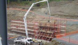 Аренда автобетононасоса - 26 и 56 метров, бетононасос АБН в Красноярске