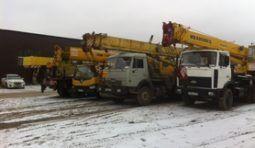 Аренда автокрана Ивановец КС-5576Б 25 тонн