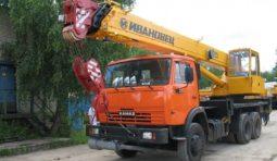 Аренда автокранов 14-25 тонн