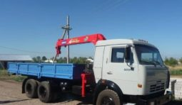Аренда автоманипулятора 15 тонн Камаз