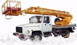 Аренда автовышки ГАЗ 3309