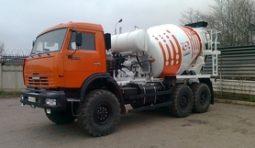 Аренда бетоновоза КамАЗ 69361H 7 м.куб.