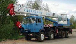 Аренда крана 32 тонны (Галичанин КС-55729-1В) в Челябинске