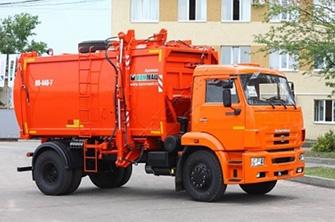 Аренда мусоровоза в Омске