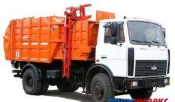 Аренда мусоровоза HIDRO-MAK V=8 куб. на шасси FUSO