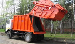 Аренда мусоровоза МКС-3501 (Ряжск) шасси МАЗ-5550B2