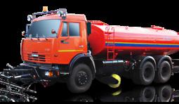 Аренда поливомоечной машины КО-806-01 на шасси КамАЗ-43253-3010-28