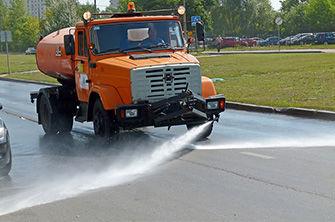 Аренда поливомоечной машины в Екатеринбурге