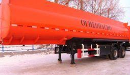 Аренда полуприцепа бензовоза грузоподъемностью 40 тн, 1-3 секции
