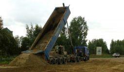 Аренда самосвала 60 тонн Тонар