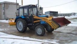 Аренда трактора погрузчика с щёткой