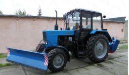 Аренда трактора с щеткой,отвалом,ковшом