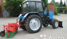 Аренда трактора (щетка, отвал )