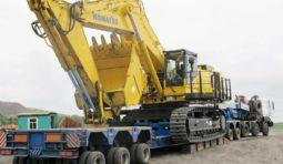 Аренда трала 150 тонн модульный
