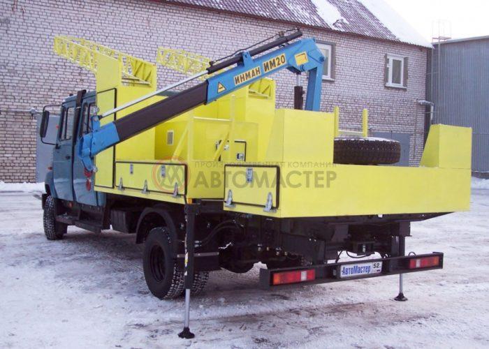 Аварийно-водопроводная машина (АВМ) ЗИЛ 5301