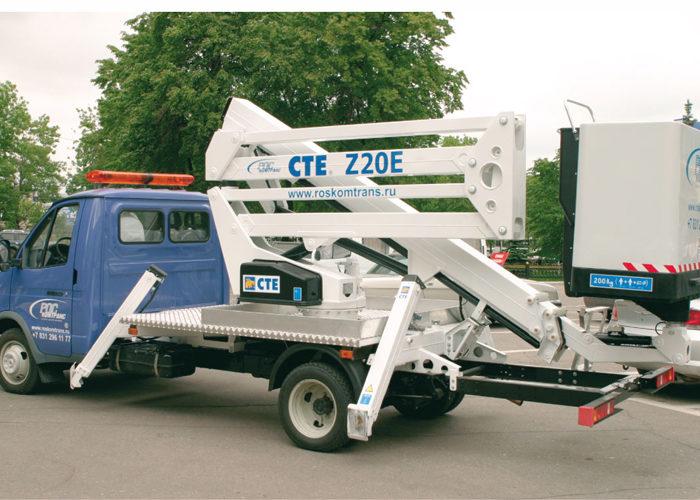 Автогидроподъемник рычажно-телескопический Z20E на базе ГАЗ-3302
