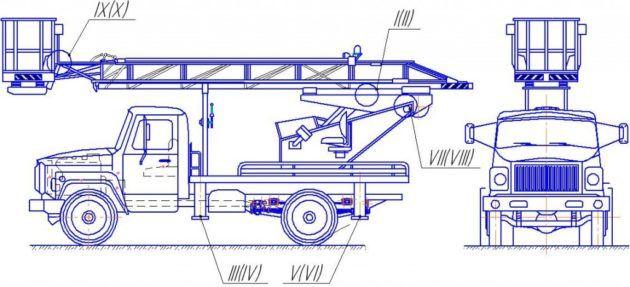 Автовышка АП-17-04