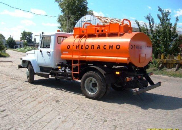 Бензовоз ГАЗ 3309
