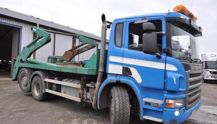 Бункеровоз на базе Scania