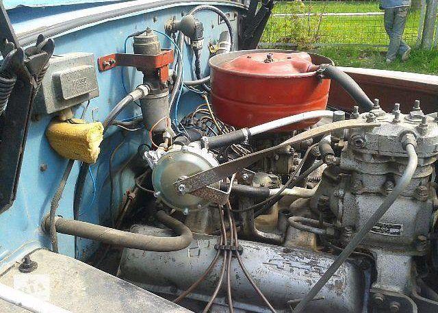 Двигатель ЗИЛ 130 с ГБО (пропан)