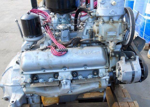 Двигатель ЗИЛ 130 с кап ремонта