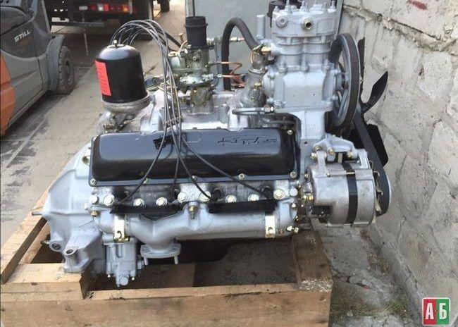 Двигатель в сборе ЗИЛ 130