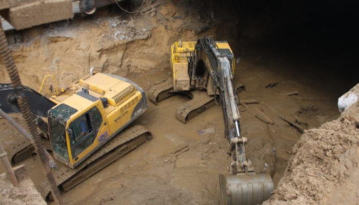 Экскаваторы подземных работ