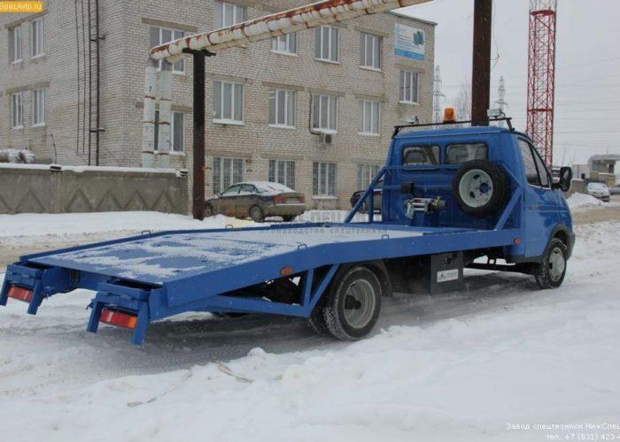 Эвакуатор ГАЗ 3302