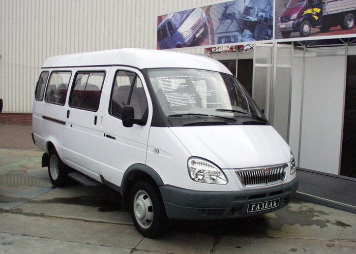 ГАЗ 3302 пассажирская