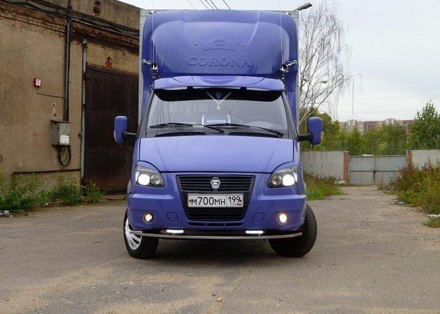 ГАЗ-3302 с отличным тюнингом кабины