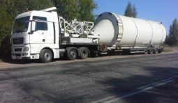 Грузоперевозки низкорамным тралом до 120 тонн