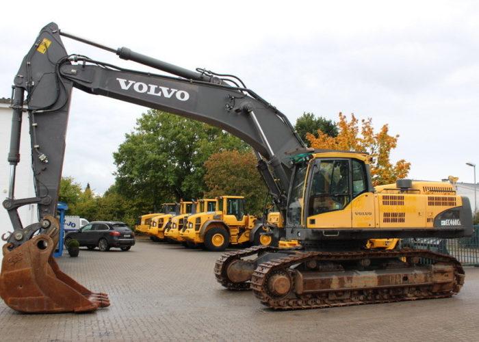 Гусеничный экскаватор Volvo EC 460 CL