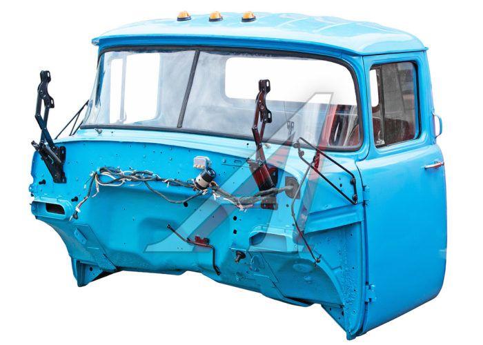 Кабина ЗИЛ-130 в сборе синяя