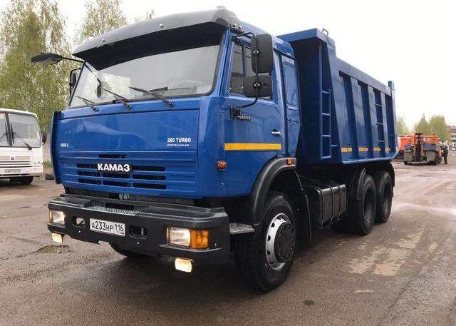 Камаз 65115 - синий
