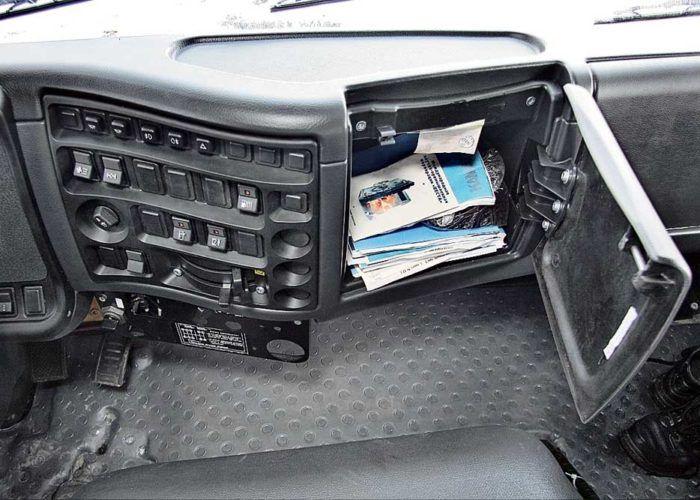 Камаз 65115 - панель машины