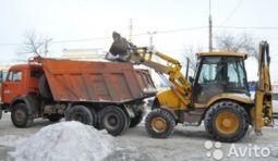 Камаз Самосвал 15т 13т уборка И вывоз снега