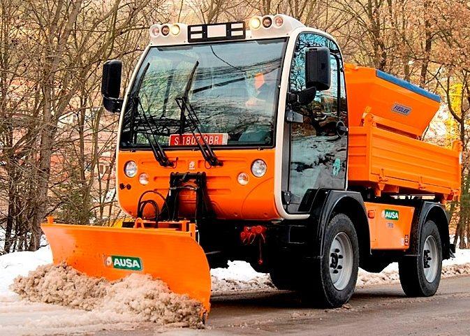 Коммунальные снегоуборочные машины