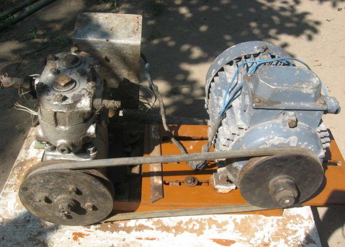 Компрессор от ЗИЛ-130 с ресиверо
