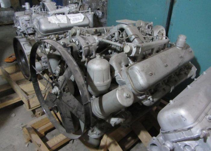 Маз 5551 - двигатель