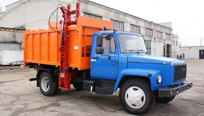Мини-мусоровозы на шасси ГАЗ