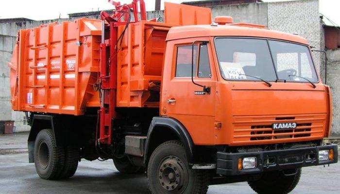 Мини-мусоровозы на шасси КамАЗ